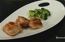 involtini di pollo salvia e broccoli