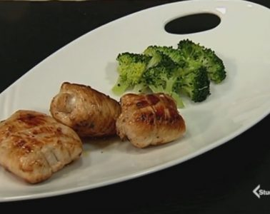 involtini di pollo salvia e broccoli