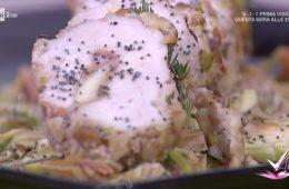 filetti di pollo alla frutta secca e carciofi marinati di Daniele Persegani