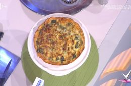 quiche agli spinaci in crosta di patate dolci