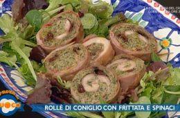 rollè di coniglio con frittata e spinaci di Emilio Signori