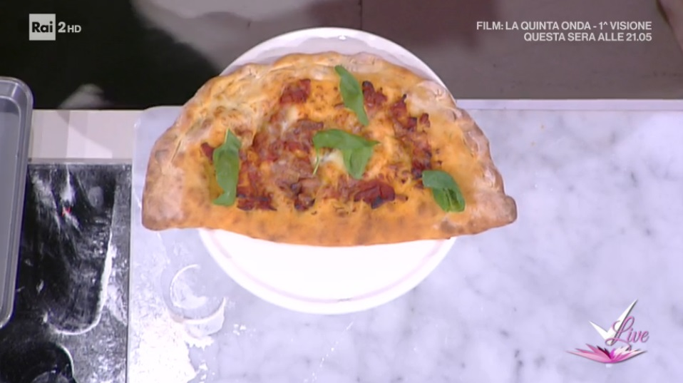 calzone all'amatriciana di Gianfranco Iervolino