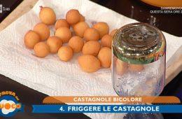 castagnole bicolore di Natalia Cattelani