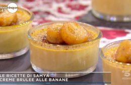 creme brulee alle banane di Samya