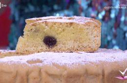 crostata con crema frangipane e amarene di Giustina