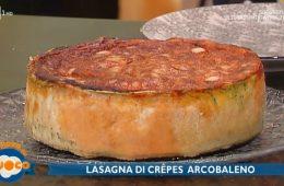 lasagna di crepes arcobaleno di Fabio Campoli