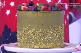 torta paradiso al pistacchio