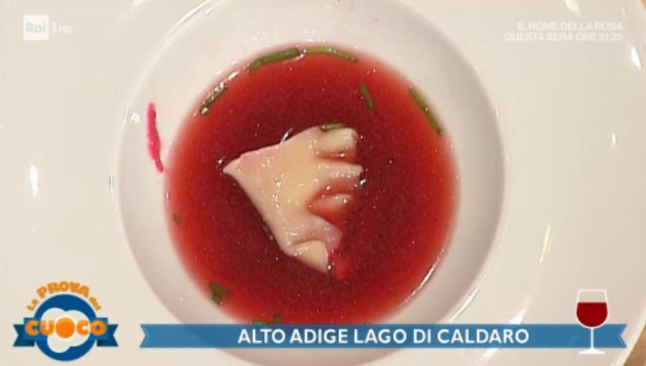 fagottini di barbabietola in brodo di Alessandro Dal Degan