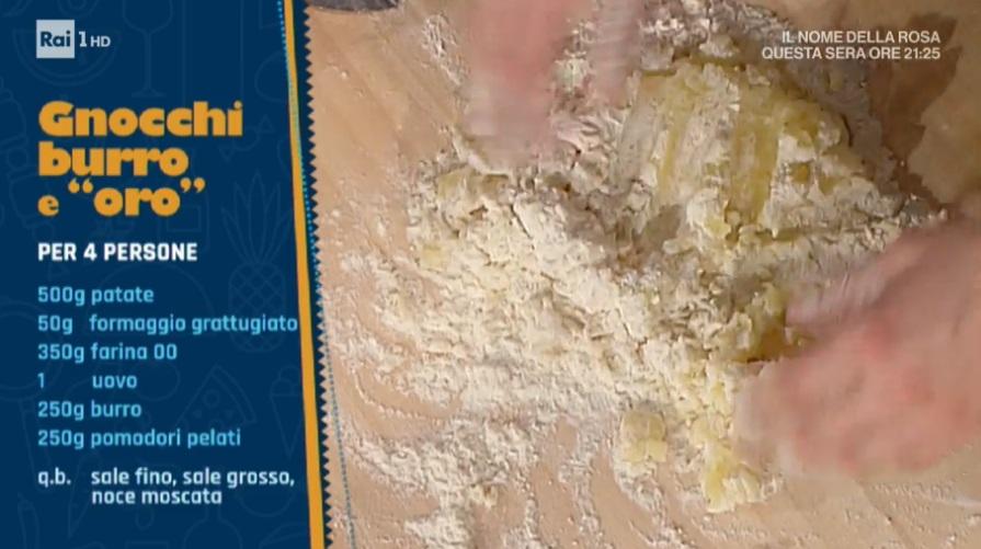 gnocchi burro e oro di Alessandra Spisni