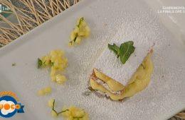 millefoglie con crema mousseline e ananas di Riccardo Facchini