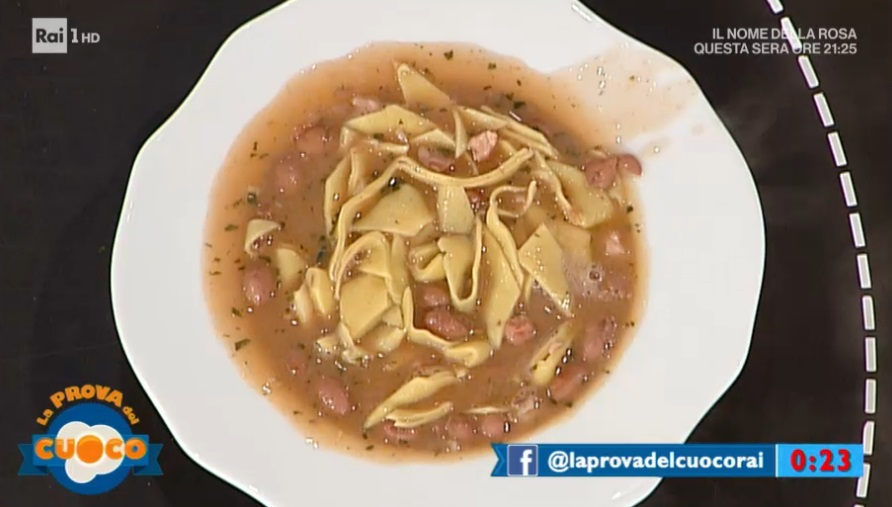 maltagliati e fagioli alla emiliana di Alessandra Spisni