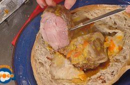 arrosto di maiale in crosta di pane alle noci di Fabio Campoli e Marco Rufini