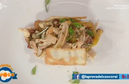 pollo alla cacciatora con cracker espressi di Riccardo Facchini