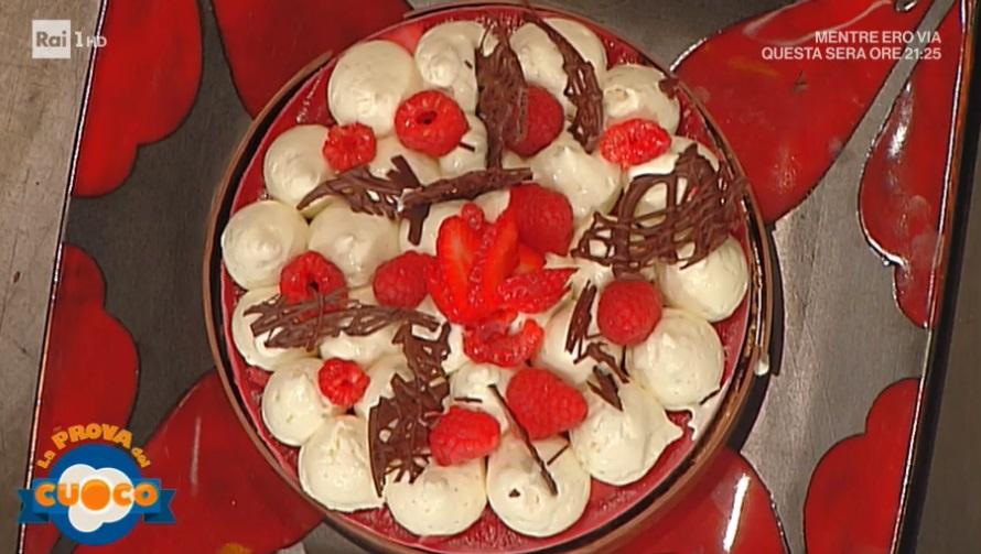 biscotto al cioccolato e lampone di Guido Castagna