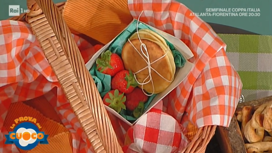 flan di piselli e pancakes di Ginevra Antonini
