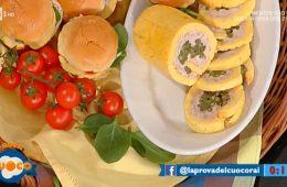 rotolo al formaggio ripieno di carne di Natalia Cattelani