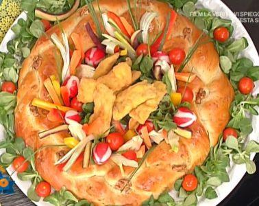 corona di pane alle noci e involtini di maiale di Natalia Cattelani e Luisanna Messeri