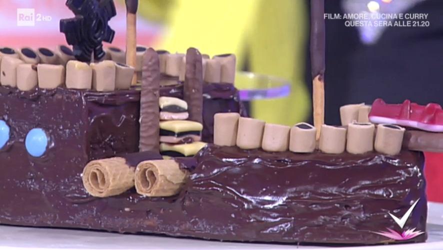 torta galeone di Massimo Pacelli e Giustina