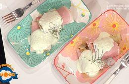 involtini di prosciutto indivia e melanzane