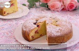 torta soffice alle prugne di Samya