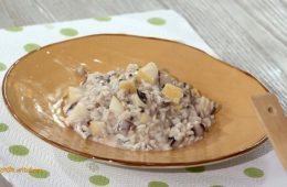 risotto pere gorgonzola e prosecco di Anna Moroni