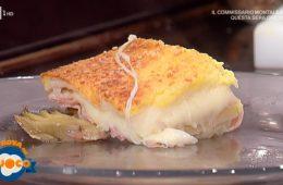 super toast prosciutto scamorza e carciofini di Luisanna Messeri