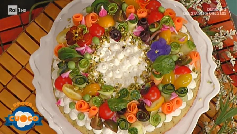 torta estiva in padella di Natalia Cattelani