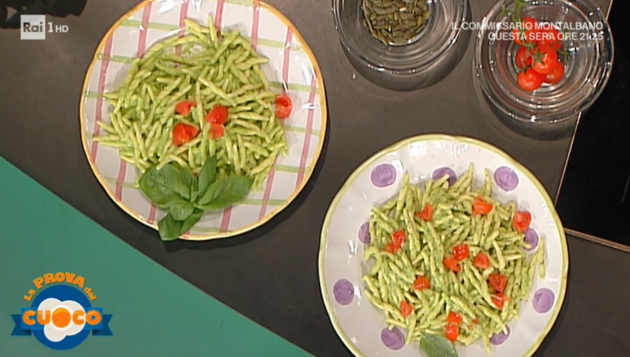 trofie al pesto di zucchine di Natalia Cattelani