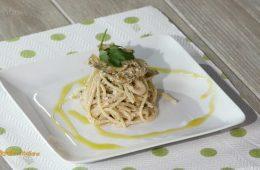 spaghetti con bottarga e carciofi di Anna Moroni