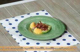 mousse di melone con prosciutto crudo