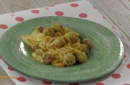 polpettine con mele e salsa al curry