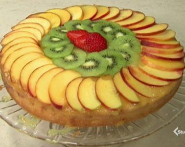 torta vegana alla frutta