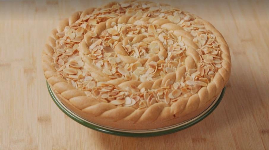 crostata frangipane
