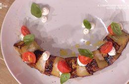 melanzana con ricotta e pomodorini di Andrea Ribaldone