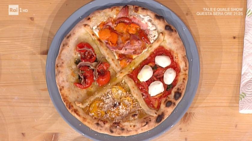 pizza ai 4 pomodori di Gino Sorbillo