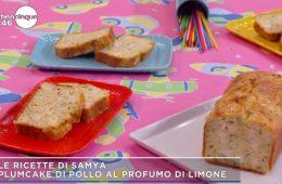 plumcake di pollo al limone
