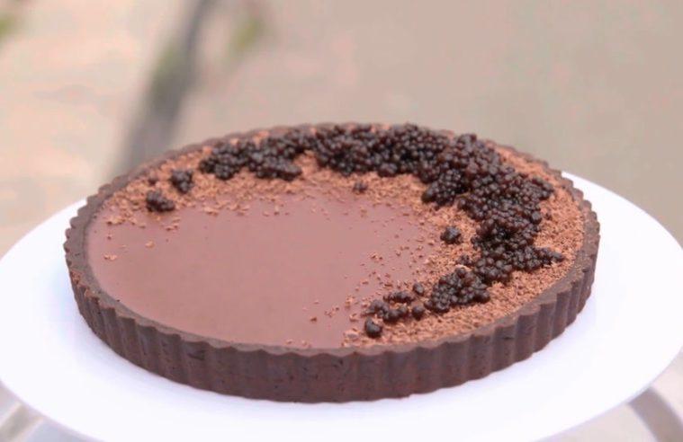 torta al cioccolato ai sapori pugliesi