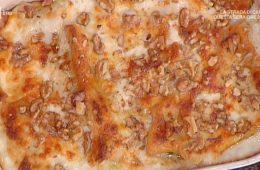 cannelloni di castagne con radicchio e gorgonzola di Daniele Persegani