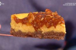 cheesecake alla zucca con salsa mou di Daniele Persegani