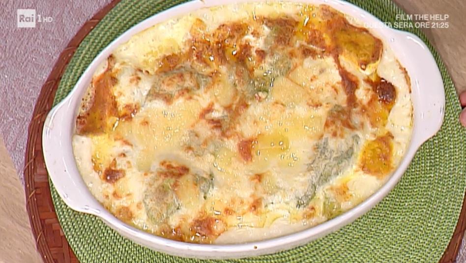 lasagne ai carciofi con gocce d'oro di Daniele Persegani