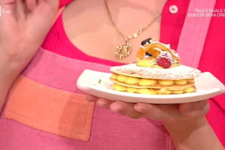 millefoglie di pancakes di Sal De Riso