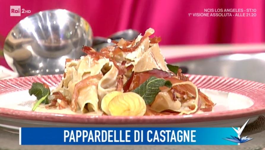 pappardelle di castagne di Beniamino Baleotti