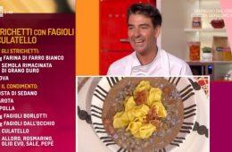strichetti con fagioli e culatello di Sergio Barzetti