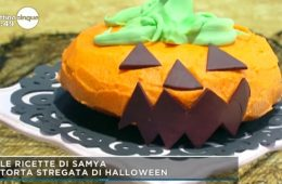 torta stregata di Halloween