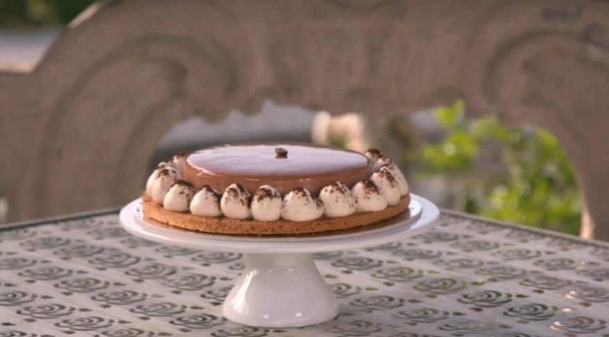 torta al caffè moderna