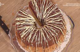 chiffon cake al cacao e vaniglia di Natalia Cattelani