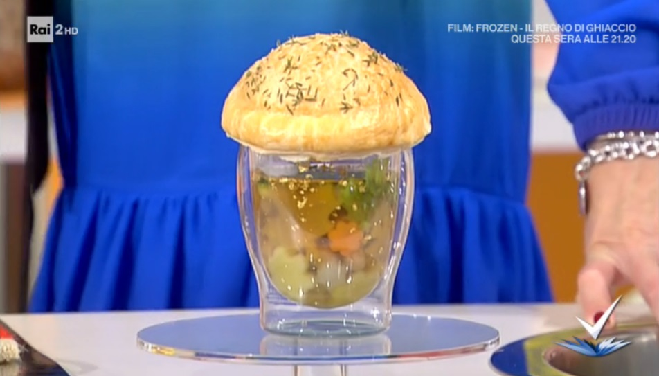 minestrone in crosta