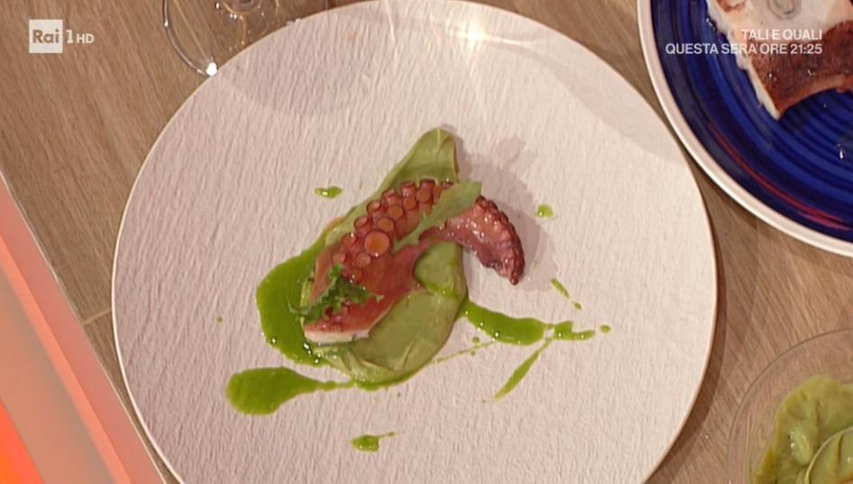 polpo arrosto e broccoletti di Gianfranco Pascucci