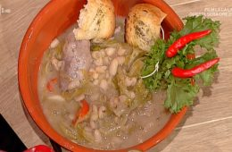 zuppa di fagioli con la scarola di Angelica Sepe