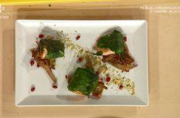 salmone ai pistacchi